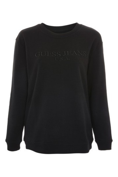 Topshop sweatshirt classic black sweater