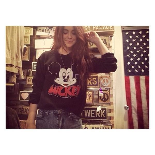 sweater hoodie acacia brinley acacia brinley brandy melville mickey mouse mickey mouse hoodies sweatshirt