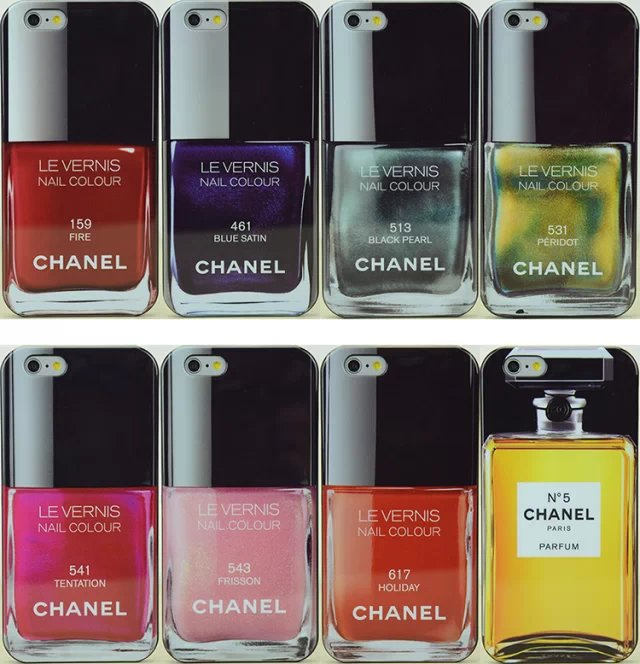 Chanel nail polish bottle no.5 iphone 6 4.7 iphone 6 plus 5.5 silicone protective case
