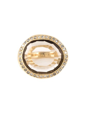 metallic women ring jewels