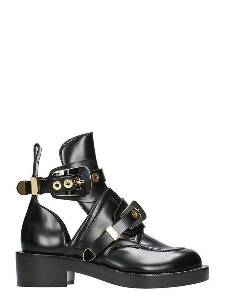 Balenciaga ankle boots black shoes