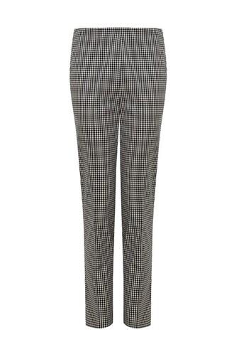 pants checkered alexa chung black pants