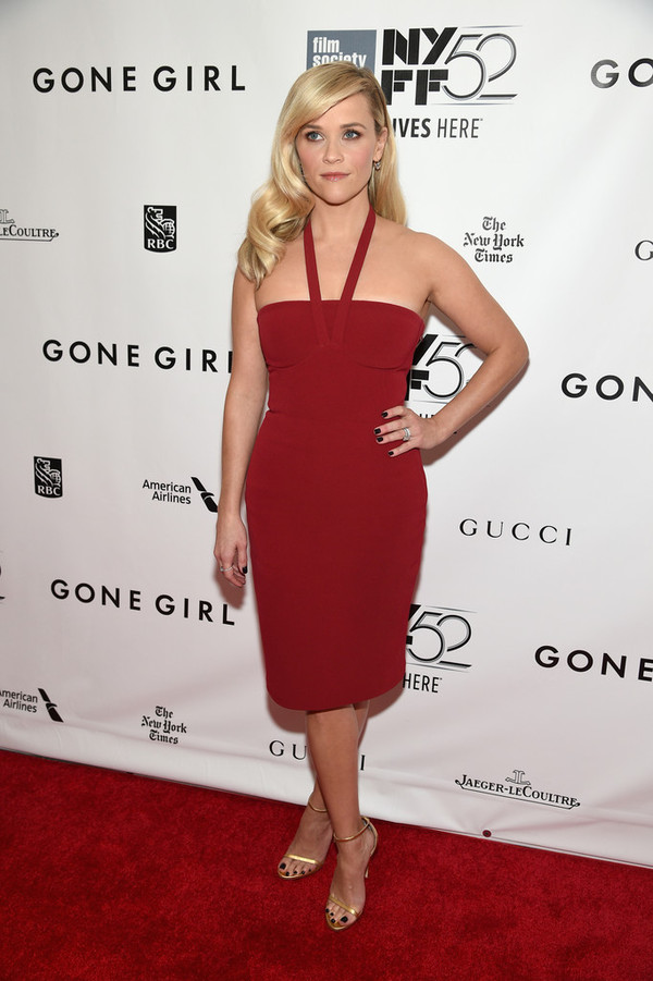 dress red dress reese witherspoon