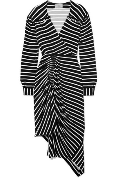 PREEN BY THORNTON BREGAZZI dress jersey dress black