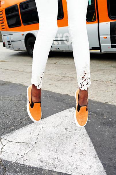 le fashion image jeans shoes