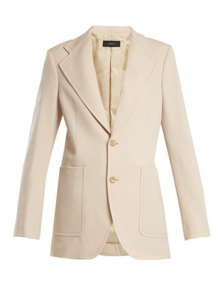 Joseph jacket wool nude