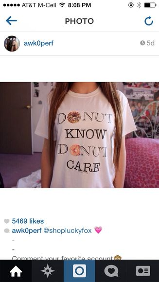 t-shirt donut phrase tumblr tumblr girl tumblr clothes funny sweaters funny shirt donuts boho bohemian blogger pretty girly grunge soft soft grunge teenagers rainbow neon pastel kawaii