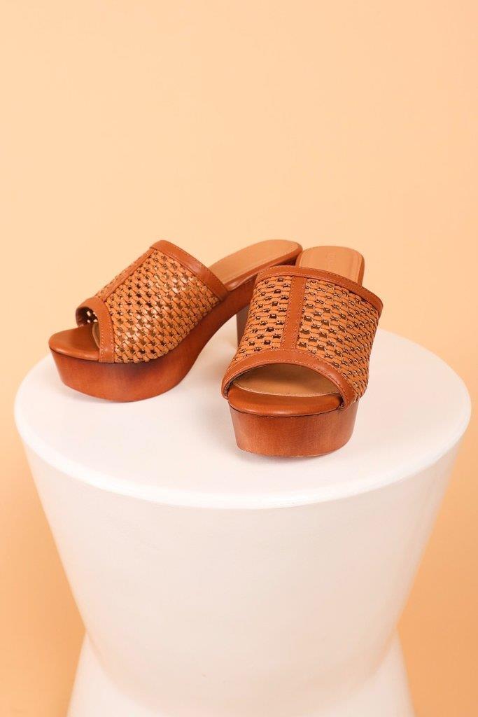 Poppy Platform Heel