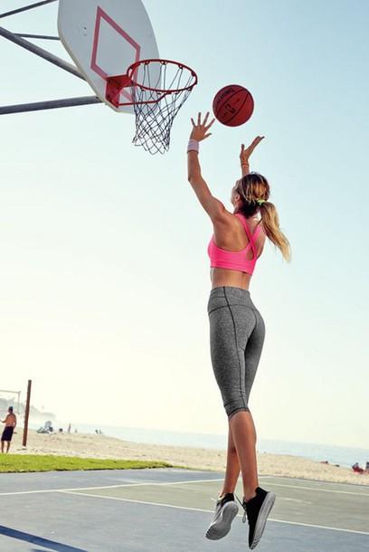 pants basketball athletes fushia pink angheeeel sportswear