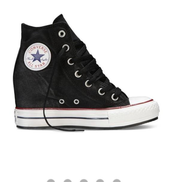 db05ae77772 shoes converse high heels wedges