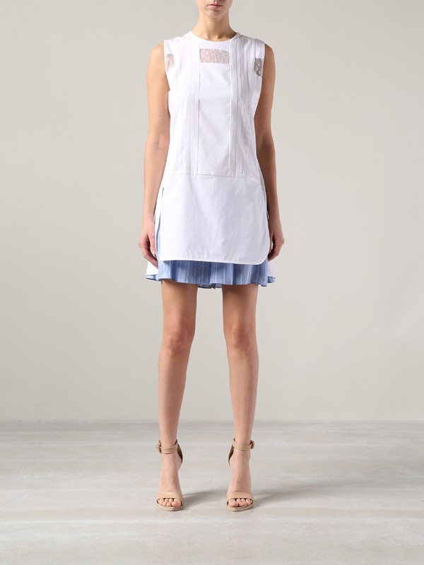 dress thakoon layered playsuit