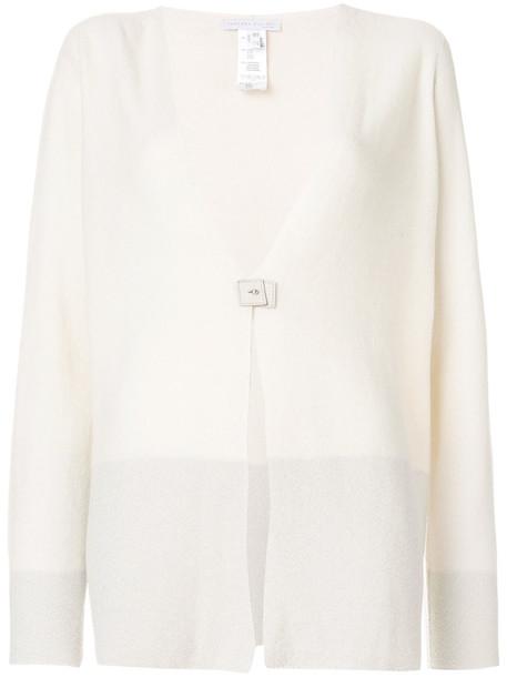 Fabiana Filippi cardigan cardigan women white silk sweater