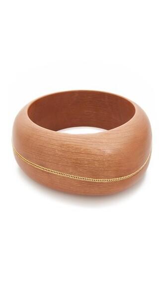 cuff wood jewels