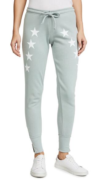 sweatpants blue pants