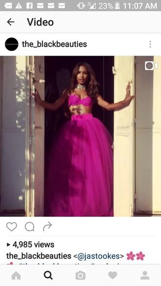 dress purple dress prom dress gown