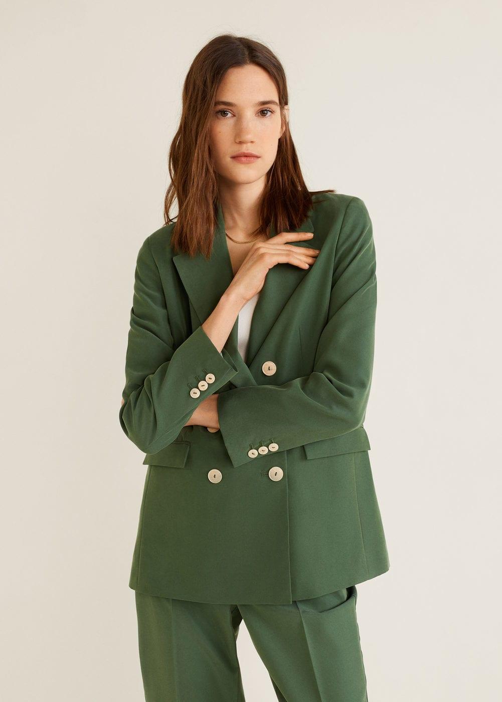 Modal-blend suit blazer - Women | Mango United Kingdom