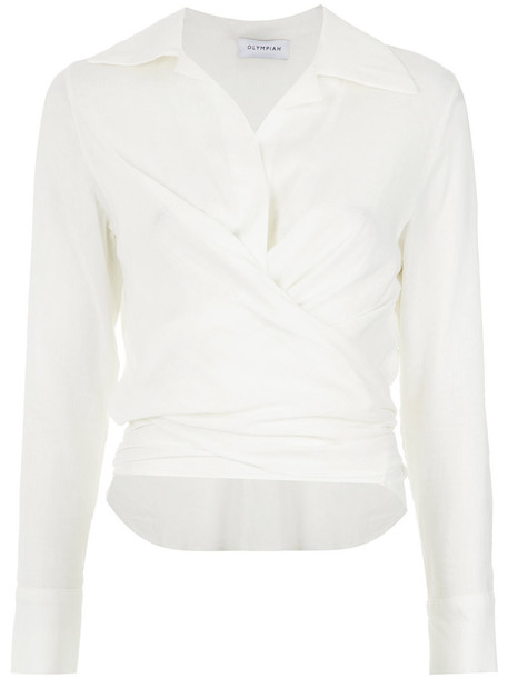 Olympiah shirt style women white top