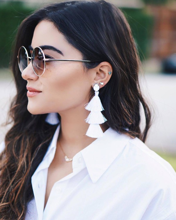 jewels tumblr jewelry accessories Accessory accent earrings sunglasses