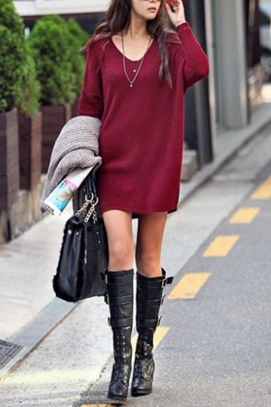 burgundy sweater sweater burgundy