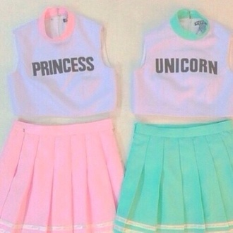 dress unicorn princess skirt cute