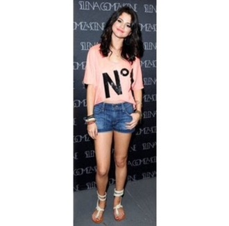blouse t-shirt pink selena gomezs blouse