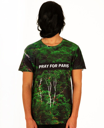 Pray for Paris forest t-shirt (all over print) | Pray For Paris ($20-50) - Svpply