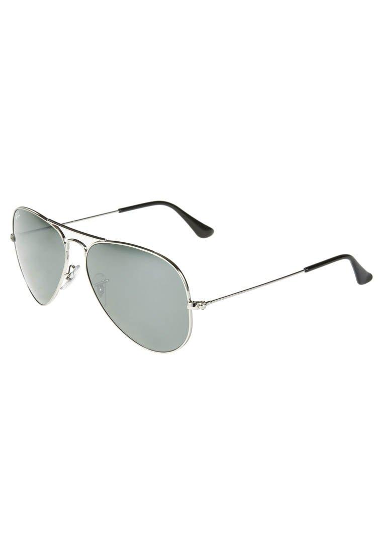 Ray-Ban AVIATOR - Sonnenbrille - silberfarben - Zalando.de
