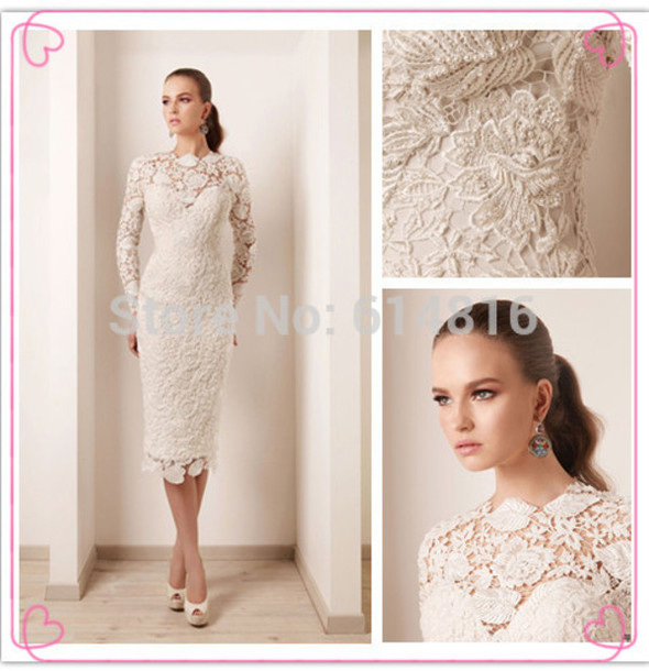 Rami Kadi Wedding Dress Wedding Dress Lace Wedding Dress Short