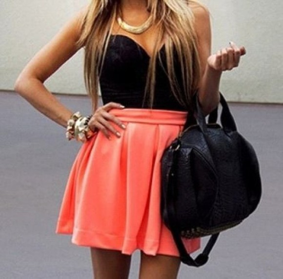 dress bustier dress bustier skirt bustier top fashion girl pink top corset top bag summer wear high waisted dress