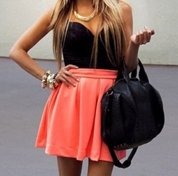 skirt bustier top dress fashion girl pink bustier top corset top bustier dress haute & rebellious summer outfits high waisted dress bag