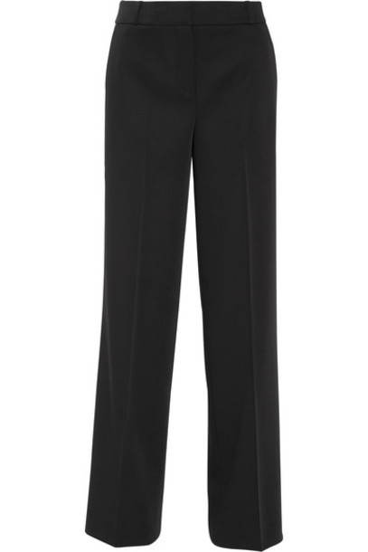 Elizabeth and James - Bradford Ponte Wide-leg Pants - Black