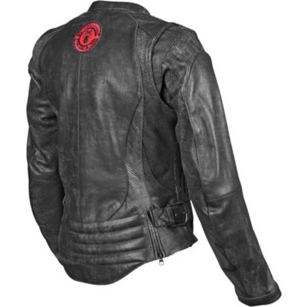 coat black leather jacket black widow jacket motorcycle jacket