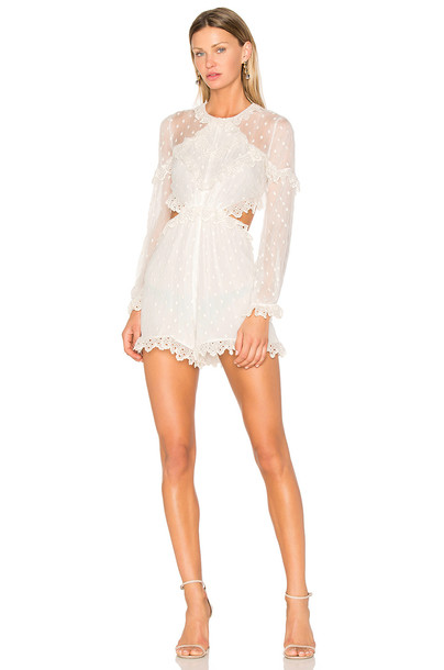 Zimmermann romper white
