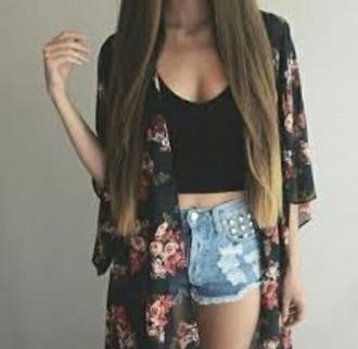 cardigan floral