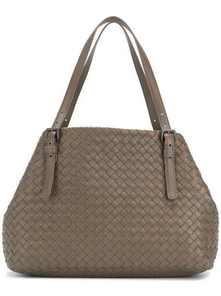 Bottega Veneta women grey bag