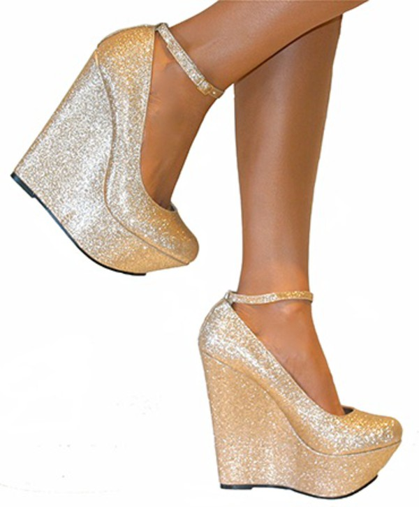 shoes heels gold heels gold