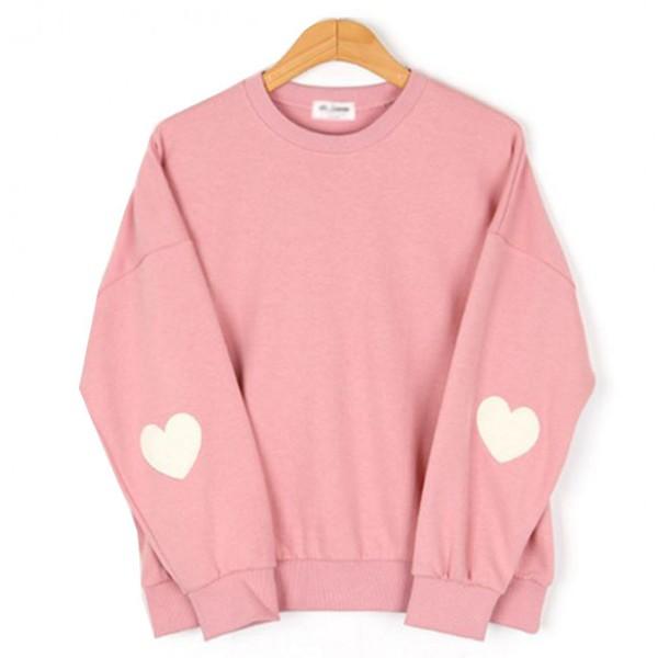 sweater girl girly girly wishlist heart pink pink sweater