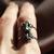 Sylvestris Deus Abalone Double Band Ring