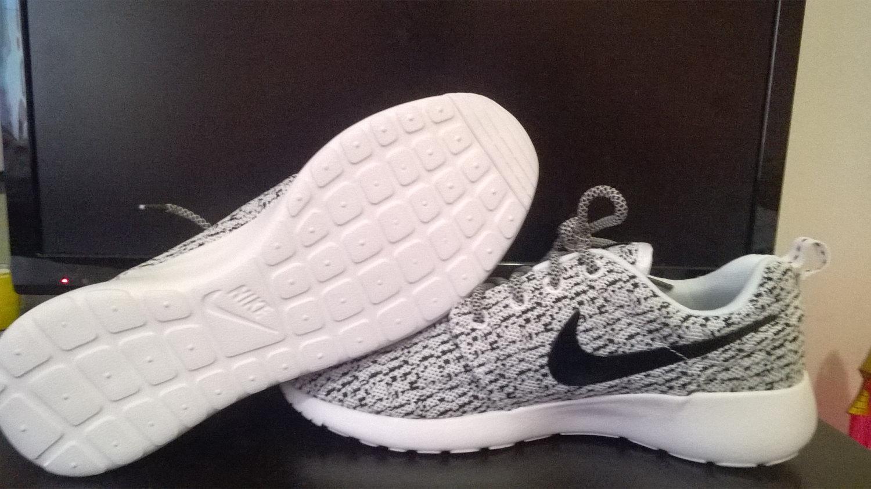 4857fd2163127 custom nike roshe yeezy boost 350 run sneakers athletic running ...
