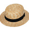 Wheat straw hat natural color - hat wear, hatnwear