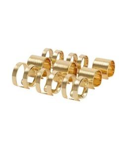 Gold cuff set of 9