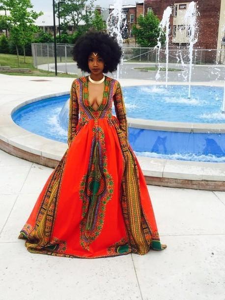 Dress Prom Dress Black Girls Killin It Natural Hair Gold