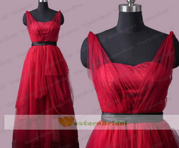 ball gown party dress evening dress formal dress burgundy prom dress long dress long prom dress long formal dress party dresses 2014