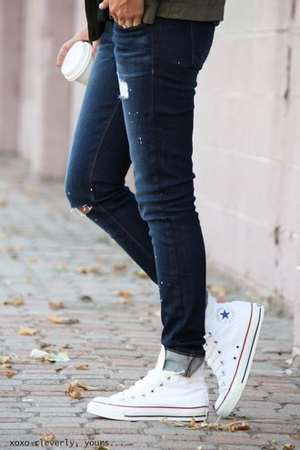 jeans denim ripped jeans skinny jeans blue casual