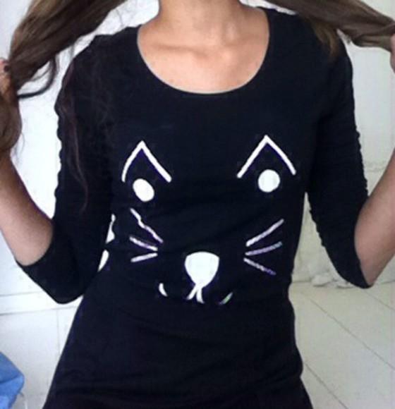 cat eye cats lovely cats shirt