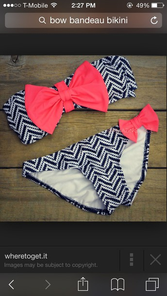 swimwear bikini tribal bikini bow bandeau bow bikini