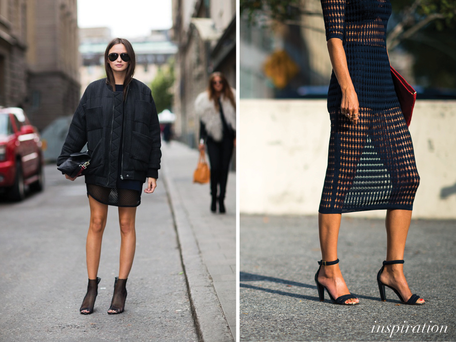 DIY MESH PENCIL SKIRT «  a pair & a spare