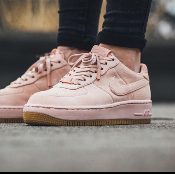 nike air force 1 upstep lux arctic orange