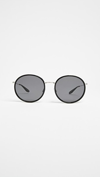 Barton Perreira sunglasses noir black