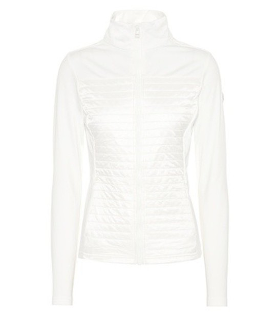 Fusalp jacket quilted white